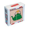 """Кубики Сложи рисунок """"Посуда"""" Komarovtoys 4 кубика"""