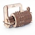 Механические 3D пазлы UGEARS Кодовый замок 70020 (34 детали)
