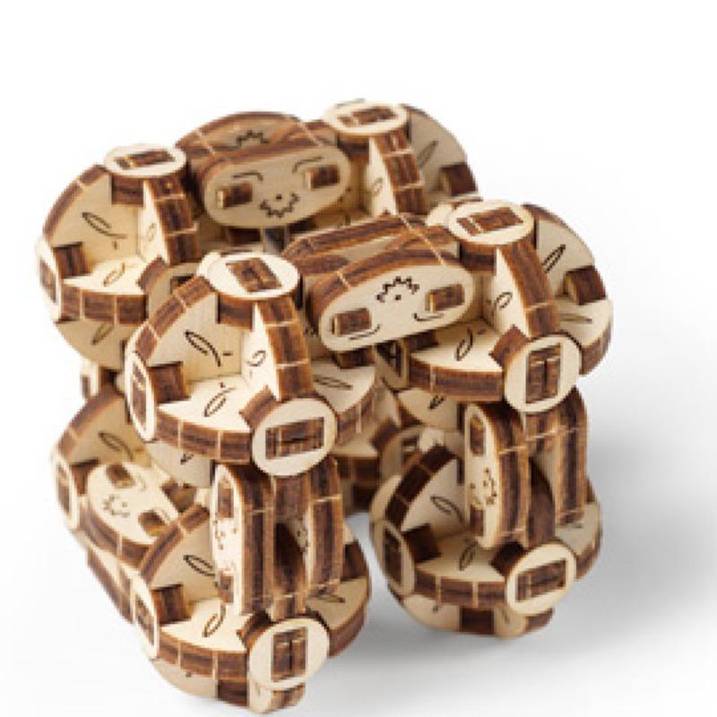 Механические 3D пазлы UGEARS Сферокуб 70049