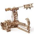 Механические 3D пазлы UGEARS Авиатор 70053