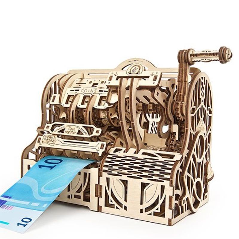 Механические 3D пазлы UGEARS Кассовый аппарат 70136