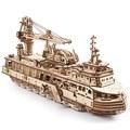 Механические 3D пазлы UGEARS Научно-исследовательское судно 70135