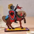 Модели раскраски UGEARS Рыцарь 10009