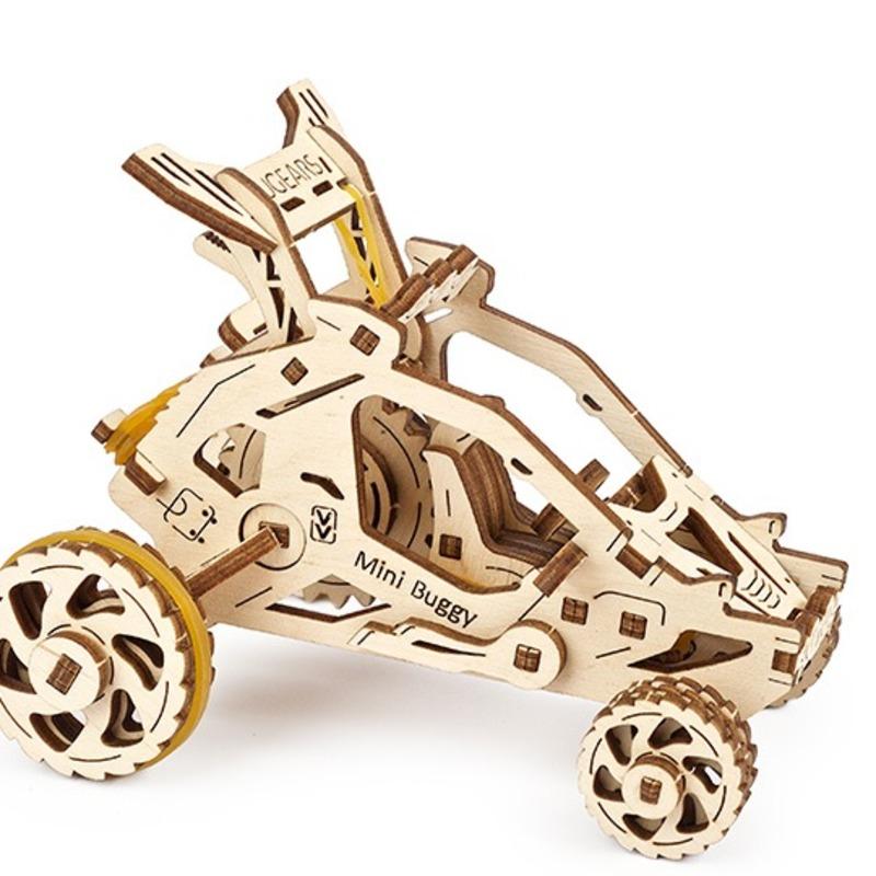 Механические 3D пазлы UGEARS Мини Багги 70142