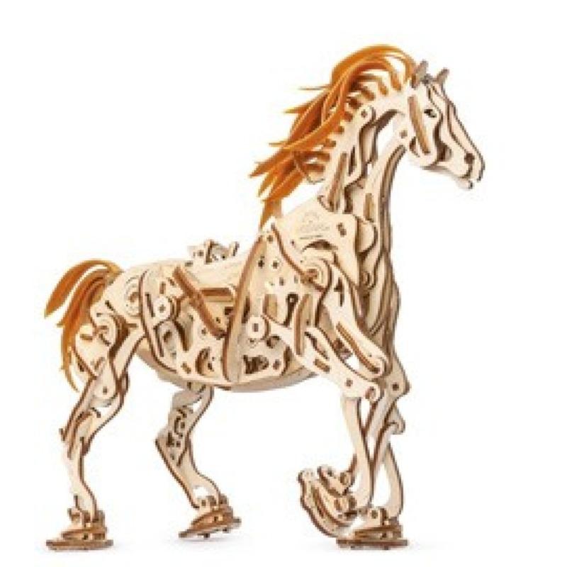 Механические 3D пазлы UGEARS Конь Механоид 70054