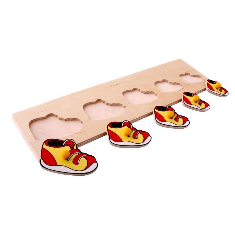 "Рамка-вкладыши ""Ботинки"" Lam Toys (5 деталей)"