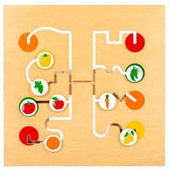 """Игровая панель """"Лабиринт фрукты-овощи"""" 446-3-2 Lam Toys"""